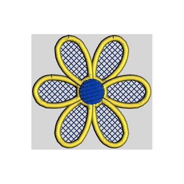 Mylar blomst 1,2 og 3