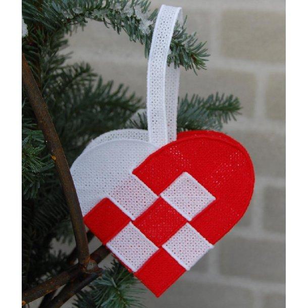 Julehjerte lace