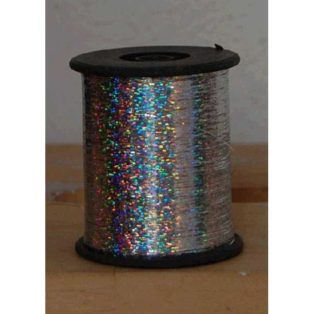 Mylartråd hologram sølv