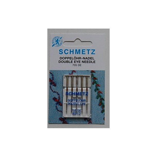 Schmetz double eye nål