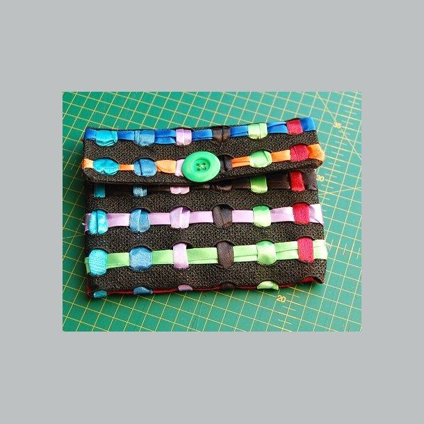 Lille lace taske med runde huller