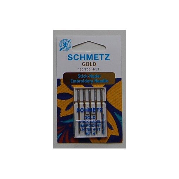 Schmetz ''Guldnål'' 5 stk. str. 90